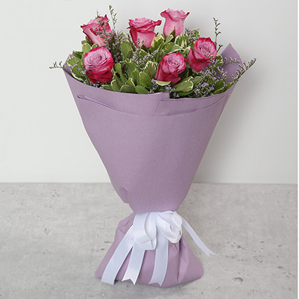 Bouquet Of Purple Roses JD
