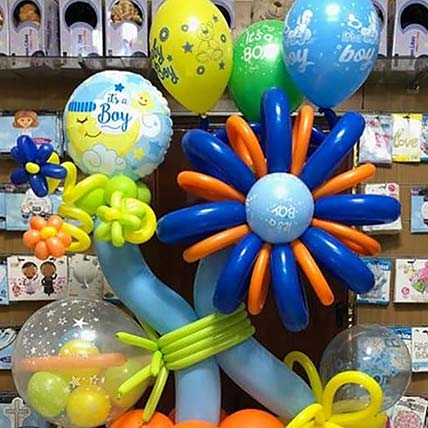 Awesome Balloon Arrangement With Chocolates