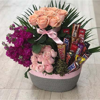 Choco Floral Arrangement