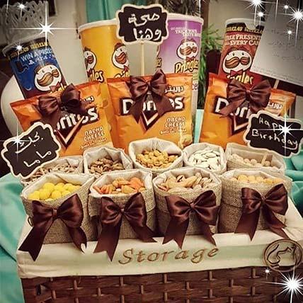 Crispy & Nutty Gift Basket
