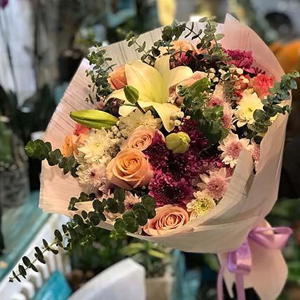 Mixed Flowers Of Joy