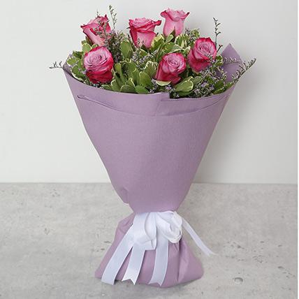Bouquet Of Purple Roses KT