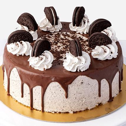 4 Portions Oreo Cake