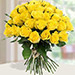 30 Yellow Roses Bouqet KT
