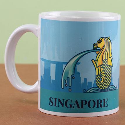Panthera Leo  Singapore Mug