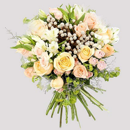 Pastel Floral Bunch and Greeting Card