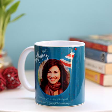 Personalised Birthday Cap Mug