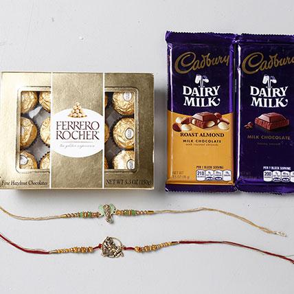 Sweet Rakhi Gift Set For Brother