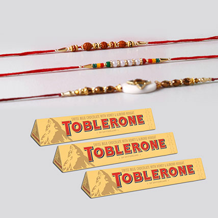 Toblerone And Rakhi Festive Combo