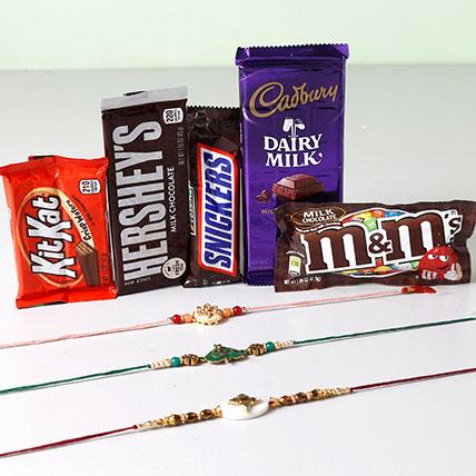 Ultra Chocolaty Rakhi Treat