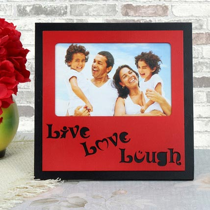Personalized Live Love Lough Frame