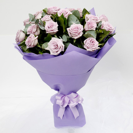 Eternal 20 Purple Roses Bouquet