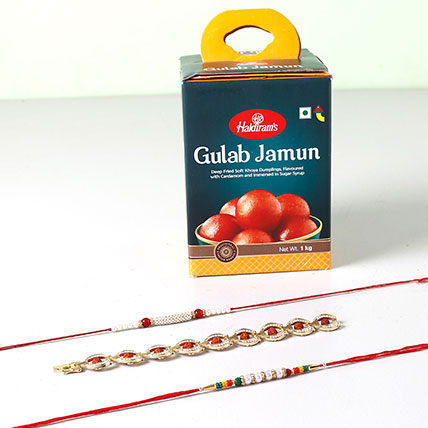 Delicious Rakhi Combo For Brother