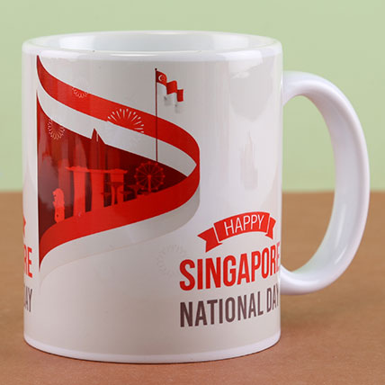 Happy Singapore National Day Mug