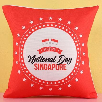 National Day Singapore Cushion