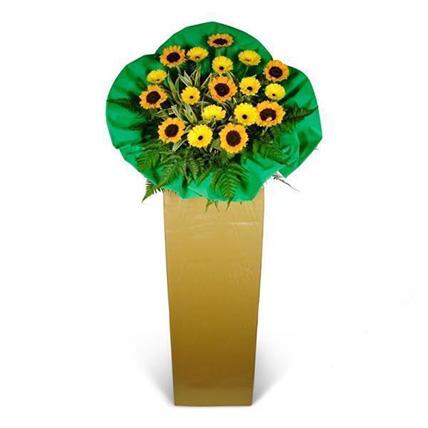 Sunflower and Gerbera Stand