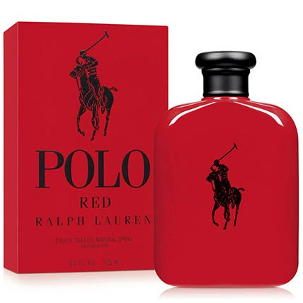 125 Ml Polo Red For Men Edt By Ralph Lauren