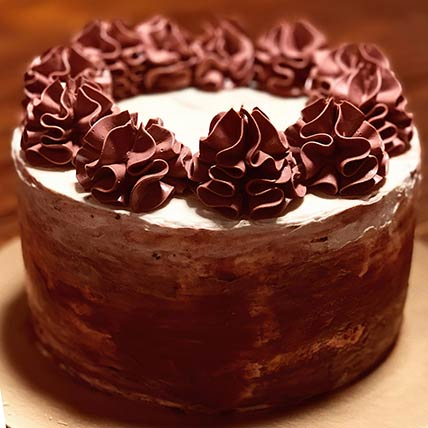 Delicious Swirl Red Velvet Cake 8 inches