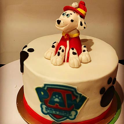 Paw Patrol Marshall Chocolate Cake 6 inches