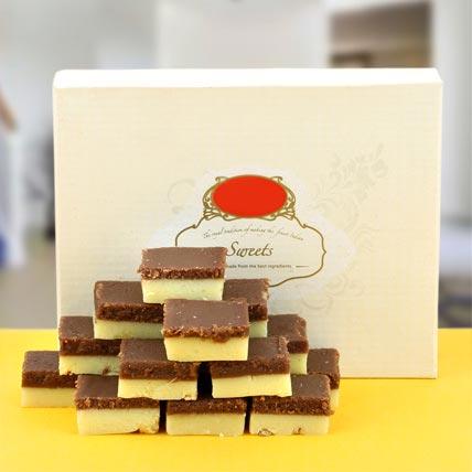 Enjoyable Chocolate Barfi  500gms