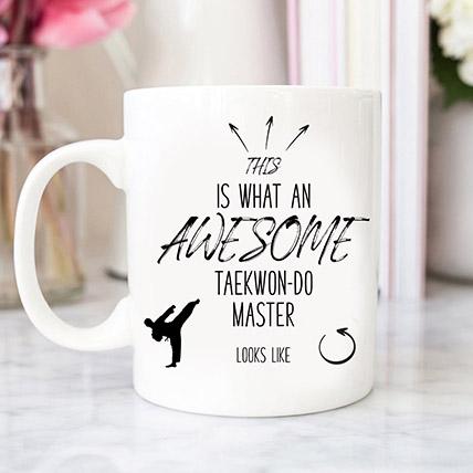 White Personalised Mug
