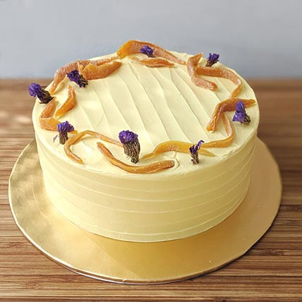 Brown Sugar Mango Frosting Cake- 6 Inches