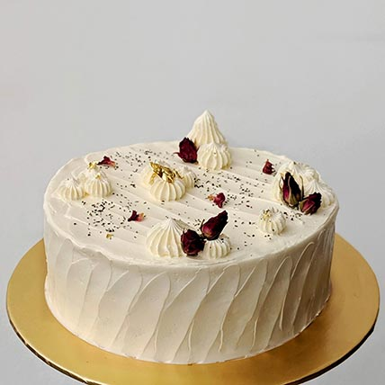 Earl Grey Vanilla Vegan Cake- 6 Inches
