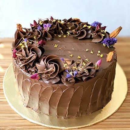Gluten Free Vegan Chocolate Cake- 10 Inches