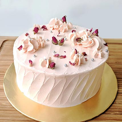 Lychee Rose Cake- 6 Inches