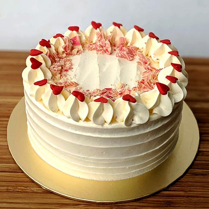 Amazing Red Velvet Cream Cheese Frosting Cake 6 Inches In Sgp Gift Funny Birthday Cards Online Alyptdamsfinfo