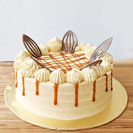 Salted Caramel Chocolate Cake- 10 Inches