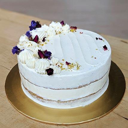Vegan Vanilla Cake- 6 Inches