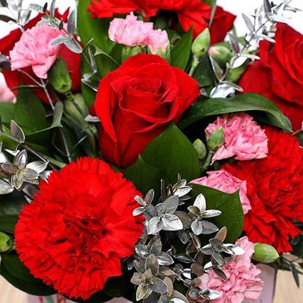 Valentines Love You Flower Vase