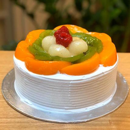 Fresh Mango Passion mousse cake