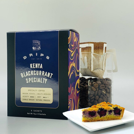 Brew & Baked Blackberry Crumble Pack