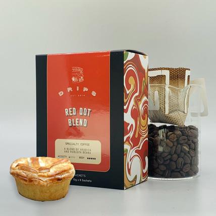 Coffee & Chicken Mushroom Pie Pack