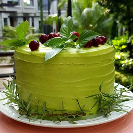 Buttercream Berries Chocolate Cake
