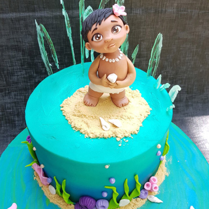 Vanilla Cartoon Cake