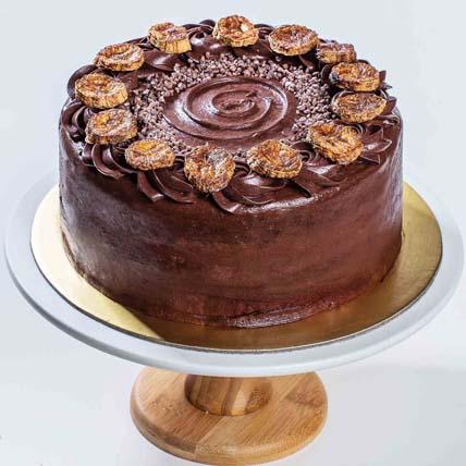 Roasted Chocolate Banana Cake 5 inches