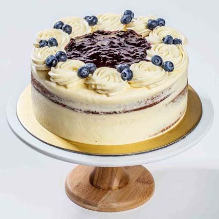 Summer Blueberry Maple Cake 8 inches