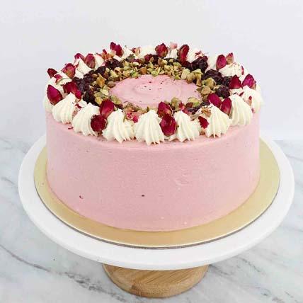 Toasty Pistachio Berry Cake 5 inches