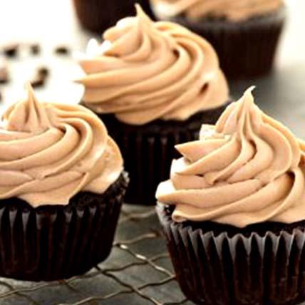 Rich Espresso Cupcakes- 6 Pcs