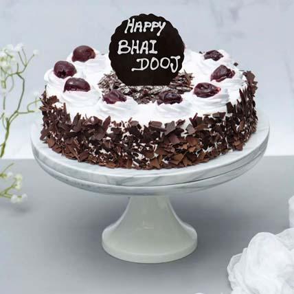 Irresistible Black Forest Cake for Bhai Dooj