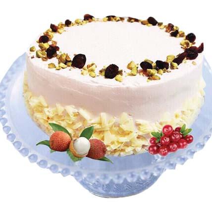 Lychee Martini Cake 500gm Non alcohol