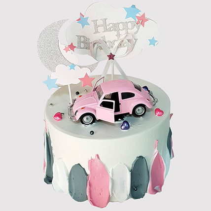 Pretty Car Truffle Cake