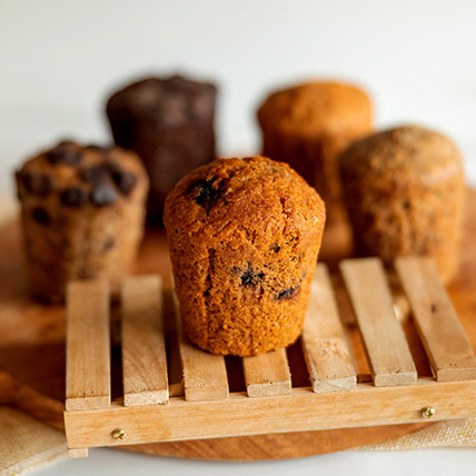 Wholemeal Blueberry Muffin
