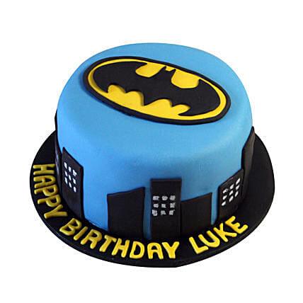Batman N Gotham City Cake