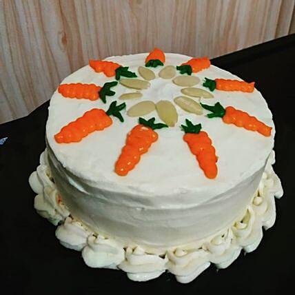 Delectable Carrot Cake Half Kg