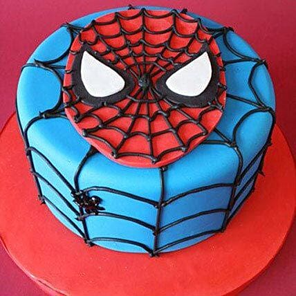 Just For You Spiderman Cake