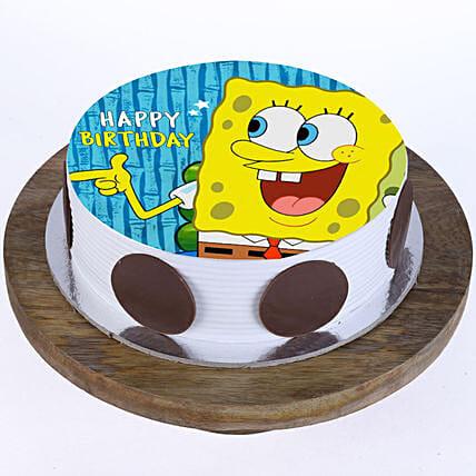 Spongebob Photo Cake